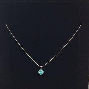 Swarovski Rhodium Plated Necklace
